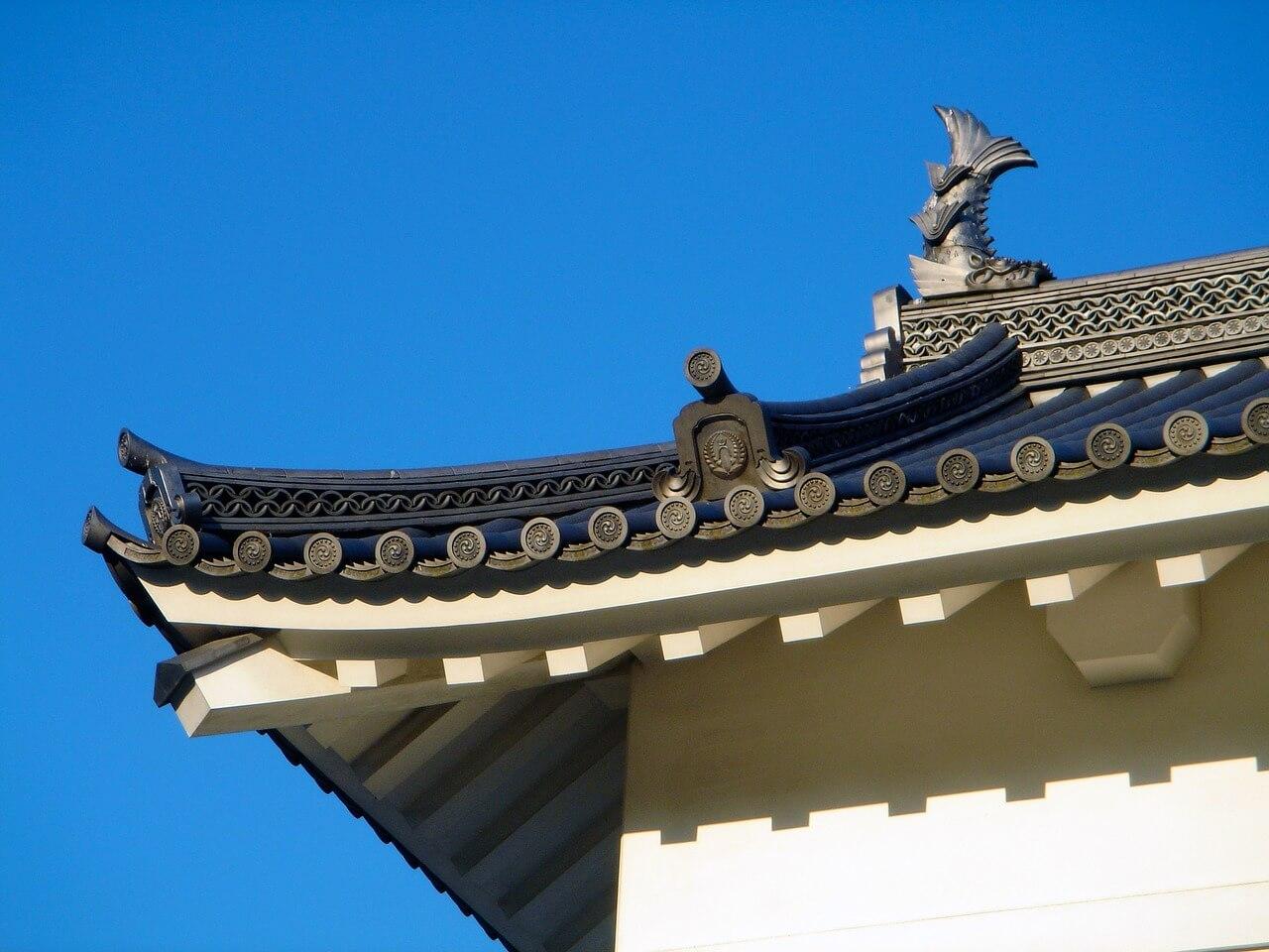 名古屋城はしゃちほこで有名