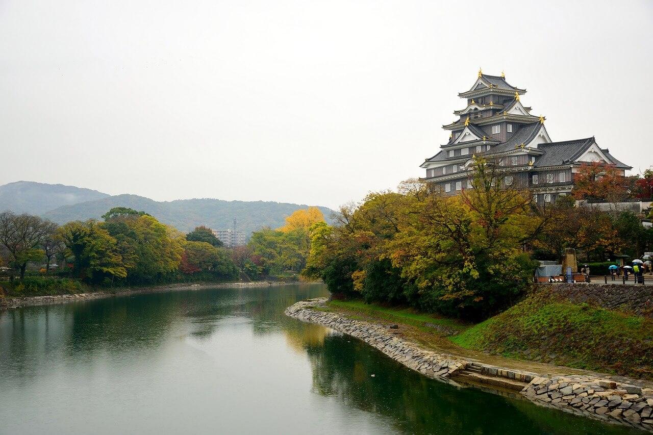 岡山城・後楽園の写真
