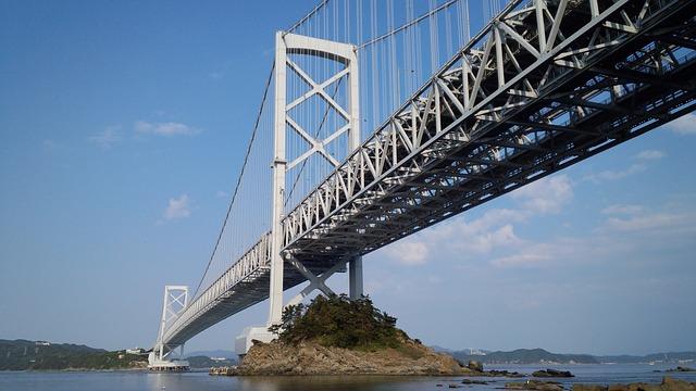 途中瀬戸大橋を電車で渡ります